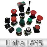 Botão de Comando com Capa de Silicone JNG LAY5-BP