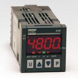 Controlador de temperatura Coel K48E HCRR 100 a 240 Vca