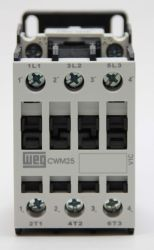 Contator Tripolar WEG CWM25-00 220V