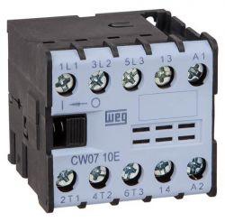 Mini Contator Tripolar WEG CW07 220v 1NA