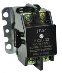 Contator Bipolar JNG Hx20-32 24 / 110 / 220vca 32a
