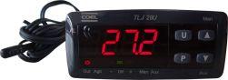 Controlador de temperatura com temporizador Cíclico p/ chocadeira Coel TLJ29 HR--U 100~240Vca