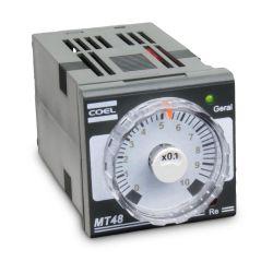 Temporizador Analógico Coel Mt48 100-240v 0-60 Seg/min