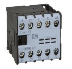 Contator Auxiliar WEG 2NA+2NF CAW04-22 220V