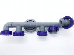 Distribuidor Hidráulico Dianteiro Da Bomba Igui Modelo G3