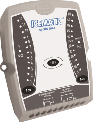 Temporizador Cíclico Full Gauge ICEMATIC 115~230Vca