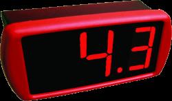 Controlador de Temperatura c/ Visor Grande Full Gauge TC-900RG2P Slim 90~264Vca