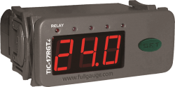 Termostato Digital Full Gauge TIC-17RGTiL 12~24Vca/Vcc