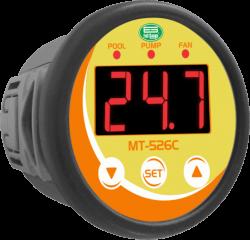 Controlador de Temperatura para Bombas Calor Full Gauge MT-526C 127~220Vca
