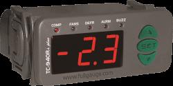 Controlador para Refrigeração com Degelo e Alarme Full Gauge TC-940Ri Plus 12Vcc
