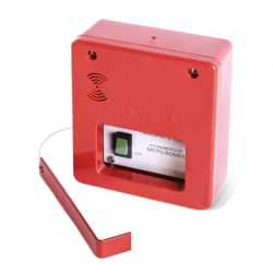 Acionador Manual para Alarme de Incendio Convencional – LIGA Bomba IP-20 – QV