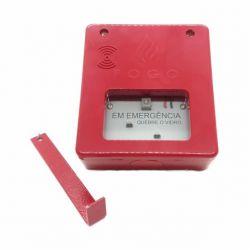 Acionador Manual para Alarme de Incendio Convencional para Chave de Emergencia 24V – Q. Vidro