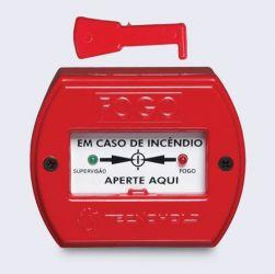 Acionador Manual para Alarme de Incendio Enderecavel IP-20 SAFIRA