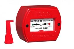 Acionador Manual para Alarme de Incendio Enderecavel IP-20 SAFIRA