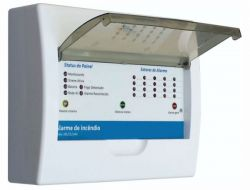 Central de Alarme de Incendio Convencional Fenix 20LSS 24V – Tecnohold – Sem Bateria