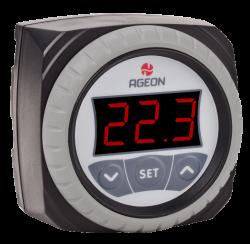 Termostato p/ Resfriadores de Leite Ageon H104M Color 85-300Vca