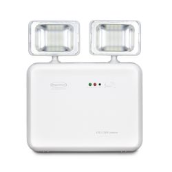 Iluminação de Emergência LED 1200 Lumens 2 Faróis - Predial