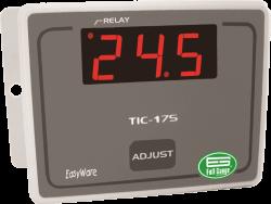 Controlador para Aquecimento e Refrigeração Full Gauge TIC-17S 12~24Vca
