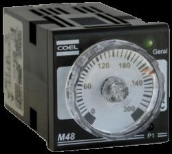 Controlador de Temperatura Coel M48 WR 24 a 240 Vca/Vcc (100º a 1200ºC)