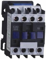 Contator de Potência Tripolar JNG CJX2-1810z 24Vcc