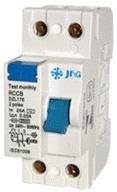 Interruptor Diferencial JNG DZL176-2-25 Bipolar 25A