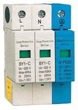 Dispositivo de Proteção Contra Surtos Bipolar+Neutro JNG BY1-C/2+1 40kA