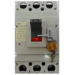 Disjuntor em caixa moldada Tripolar JNG DJM1-400L