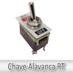 Chave Alavanca JNG RT1121-Unipolar 125V-20A/250V-15A