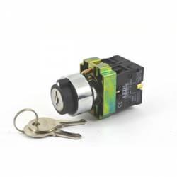 Chave Seletora / Comutadora Metálica JNG LAY5-BG