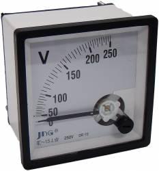 Voltímetro Analógico JNG CP-T48/72/96