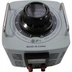 Regulador de tensão VARIAC JNG TDGC2-3 Monofásico, corrente 12A, capacidade 1,5KVA (127V)/3KVA (220V)