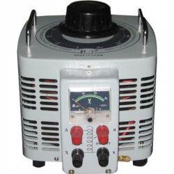 Regulador de tensão VARIAC JNG TDGC2-15 Monofásico, corrente 60A, capacidade 7,5KVA (127V)/15KVA (220V)