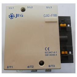Contator de Potência Tripolar JNG CJX2-F185 CA~