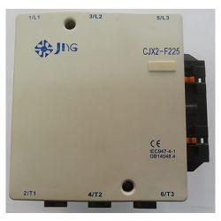 Contator de Potência Tripolar JNG CJX2-F225 CA~