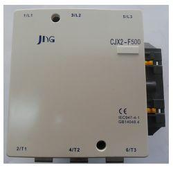 Contator de Potência Tripolar JNG CJX2-F500 CA~