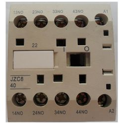 Mini Contator Auxiliar JNG JZC8 CA~