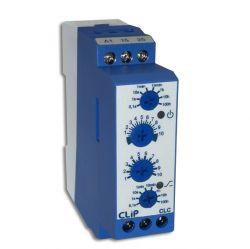 Relé Temporizador Cíclico CLIP CLC - 1 Relé SPDT (01s a 100h)